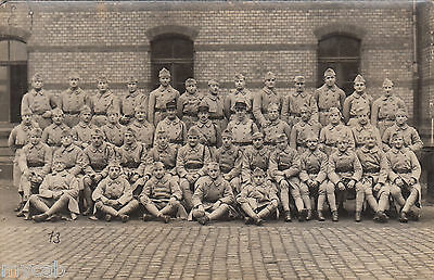 Postcard French Military group in uniform with overcoats France army RP