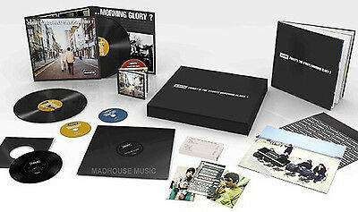 "OASIS LP x 3 Box Set What's The Story + CD x 3 + 12"" + 7"" + Pr DELUXE REMASTERED"