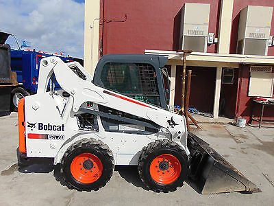 """2013 Bobcat S-570 Turbo """"super Climate Cab""""  A/c - Heat - Only 706 Hours"""