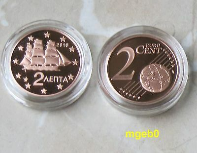 Griechenland 2016 -2 Cent  aus KMS in PP,PROOF