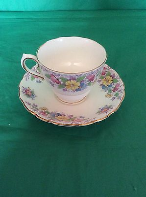 Colclough China Made In England Cup & Saucer