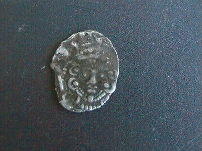 Henry 111 Cut Voided Long Cross penny and an unresearched cut half