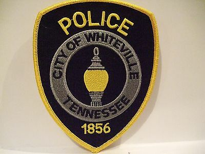 police patch    CITY OF WHITEVILLE POLICE TENNESSEE