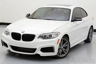 2015 BMW 2-Series Base Coupe 2-Door 2015 BMW 2-Series M235i xDrive White Used Premium Technology Package AWD