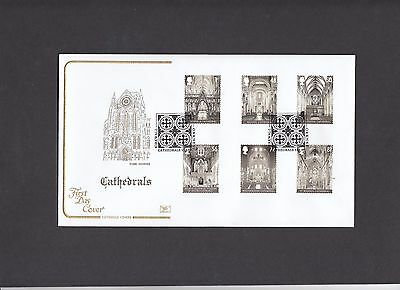 2008 Cathedrals Cotswold FDC special handstamp