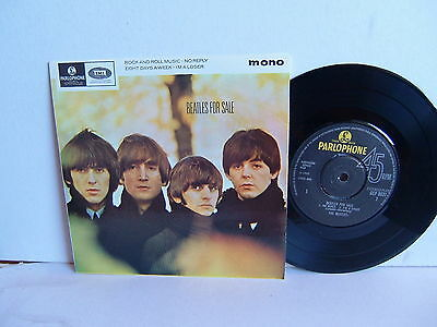 """The Beatles - Beatles For Sale EP GEP 8931  UK 7""""  Parlophone PicSlv NM"""