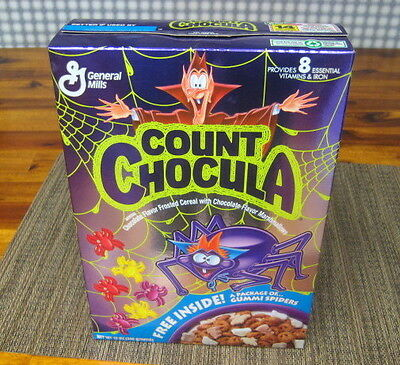 1993 Count Chocula General Mills Cereal In Unopenened Box Nm