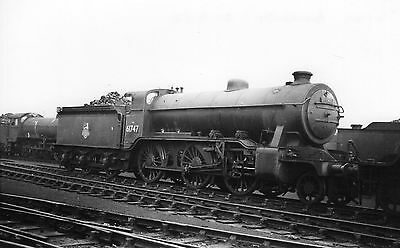 Photo Ex LNER Class K2 No 61747 at Annesley shed yard on 21/9/52