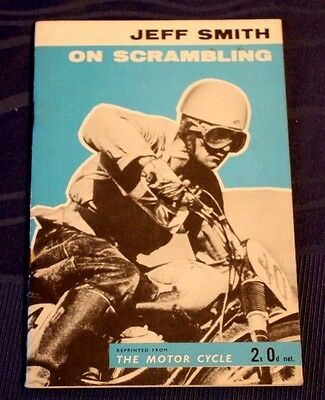 Jeff Smith on Scrambling from the Motor Cycle Booklet 1960