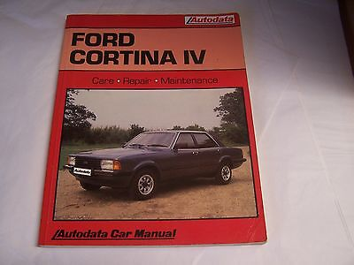 Ford Cortina Iv Autodata Car Manual Covers V As Well