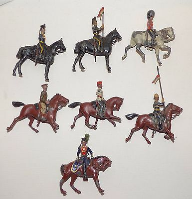 MB18 - Britains pre WW2 mounted figures for restoration