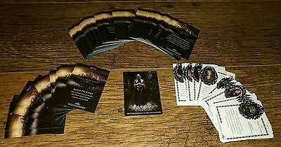 The Mortal Instruments: City of Bones Trading Cards The Complete Base Set.