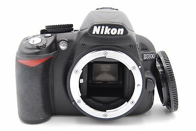 Nikon D3100 14.2 MP 3''Screen Digital SLR Camera BODY WITH BATTERY & CHARGER