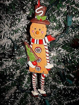 Candy Cracker Man Christmas Ornament