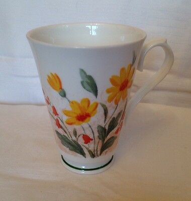 "Roy Kirkham ""flora"" Mug Bone China England 1997"