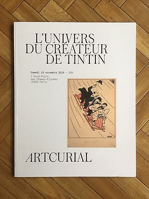 Catalogue Vente Encheres Artcurial / Tintin /19 Novembre 2016 /paris