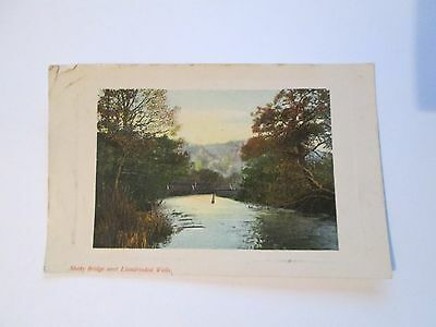 Postcard of Shaky Bridge, near Llandrindod Wells posted 1908
