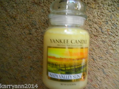 Yankee Candle Napa Valley Sun Candle 22 Oz.