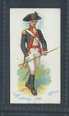 Players Old England's Defenders No 23 Royal Artillery Officer 1792