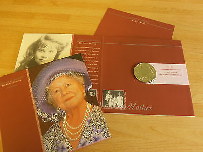 Royal Mint Queen Mother Commemorative £5 Coin
