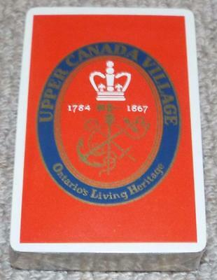 Upper Canada Village - Vintage Sealed Pack of 1960's Congress  Playing Cards