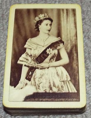 Queen Elizabeth II Coronation Vintage Pack of 1953 Commemorative Playing Cards