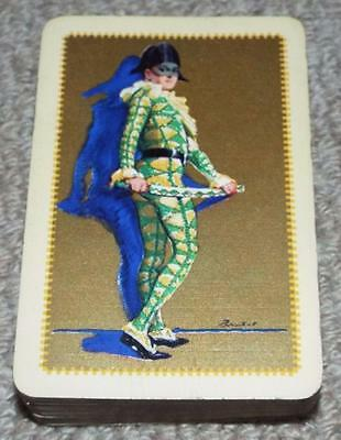 Harlequin - Vintage Pack of 1930's Barribal Playing Cards