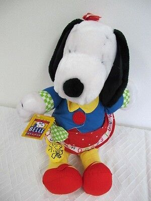 Snoopy's  Sister Belle Applause Learning Fun Teach Me How To Dress New With Tags