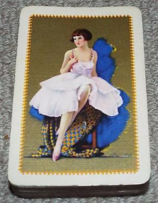 Columbine - Vintage Pack of 1930's Barribal Playing Cards
