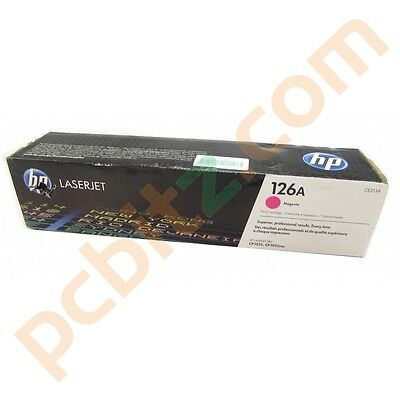 New Genuine HP CE313A Magenta Toner Cartridge for HP LaserJet Pro CP1025nw (B)