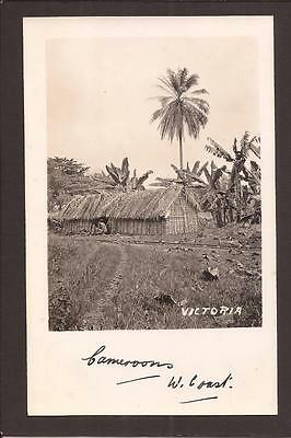 Victoria, Cameroon. Village Dwelling. RP.