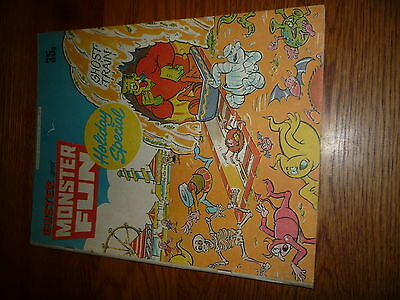 1978 Buster & Monster Fun Holiday Summer Special Comic