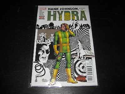 HANK JOHNSON, AGENT OF HYDRA  (2015) - #1 - Marvel -  First Print FP -  New!