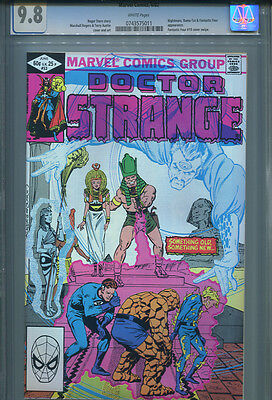 DOCTOR STRANGE # 53  CGC 9.8  White Pages