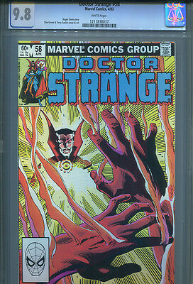 DOCTOR STRANGE # 58  CGC 9.8  White Pages
