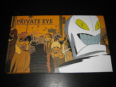 THE PRIVATE EYE - Brian K Vaughan -  HB Graphic Novel - VGC