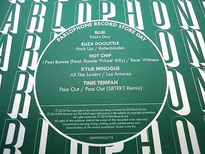 """Rsd 2010 - 7"""" Box Only 0617 Blur Fool's Day Hot Chip Tinie Tempah Kylie Minogue"""