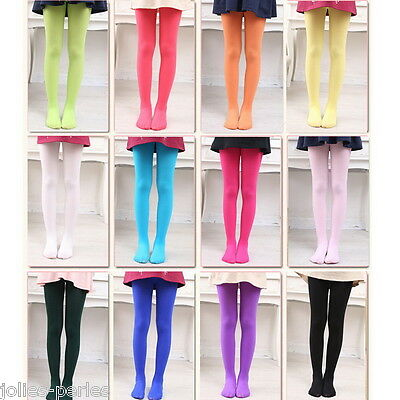 JP Girls Kids Tights Pantyhose Stockings Soft Velvet Ballet Dance Dress Socks