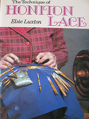 The Technique Of Honition Lace Lacemaking Pattern Book & Techniques Prickings