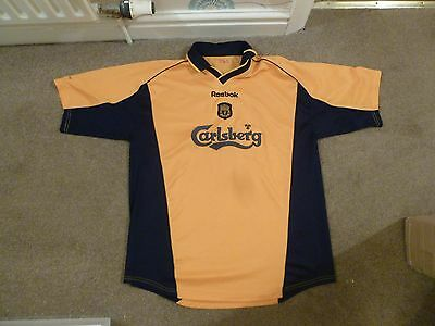 Liverpool Away Shirt Adult Large Official Good Condition