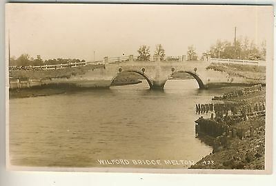 An Early Real Photo Post Card of Wilford Bridge, Melton. Suffolk