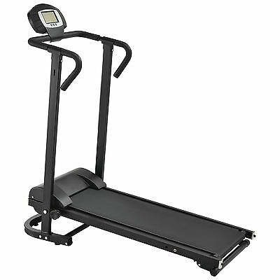 in.tec Mechanical Treadmill with LCD Display Gym apparatus Folding Home trainer