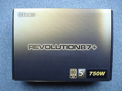Enermax Revolution 87+ 750w 80 Plus Gold Rated Power Supply (PSU) - Boxed
