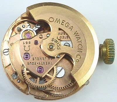 Omega 661 Automatic Wrist Watch Movement - Sold for Parts