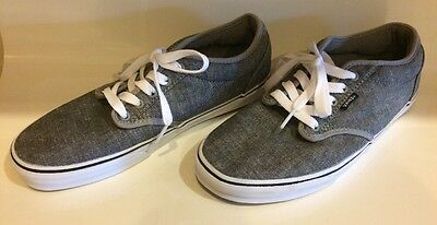 Men's VANS Off The Wall Lace Up Canvas Shoes Skateboard Sneakers 10.5