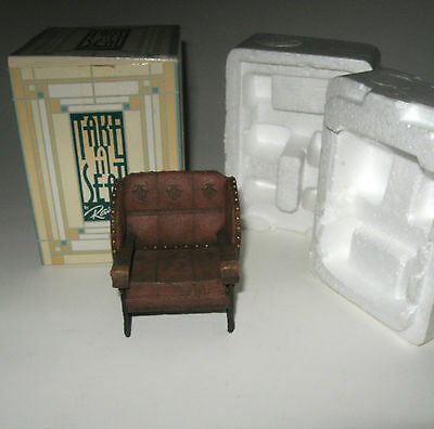 Take A Seat Raine Miniature Dollhouse Billiard Room Chair Biltmore Estate Box