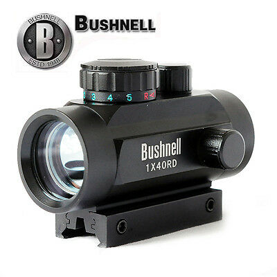 Bushnell 1x40RD Holographic 5 MOA Red Green Dot Trophy Sight Scope Riflescope US