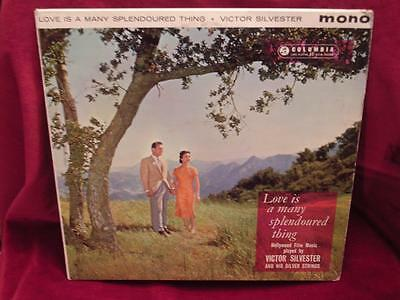 VICTOR SILVESTER - Love Is A Many Splendoured Thing - Columbia (Green) 33SX1230