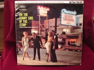 GEORGE SHEARING QUINTET - On The Sunny Side Of The Strip - Capitol ST1416 - 1960