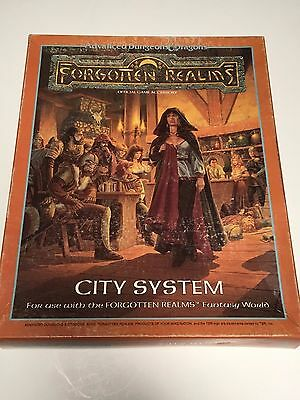 Forgotten Realms City System Boxed Set - AD&D 2nd Edition - Complete